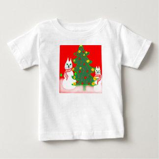 Christmas shirt cute snowman cats toddler size