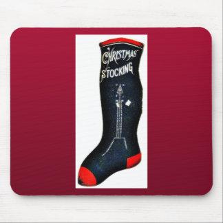 Christmas shoe shocks has a wording of Christmas S Mouse Pad