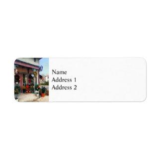 Christmas Shop Label