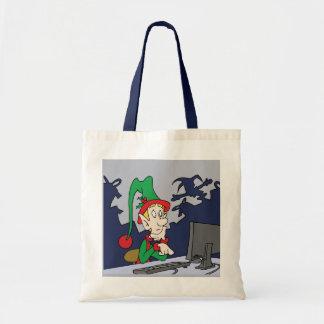 Christmas Shopping Budget Tote Bag