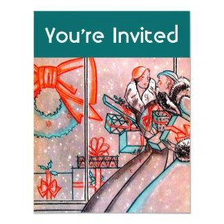 Christmas Shopping Card