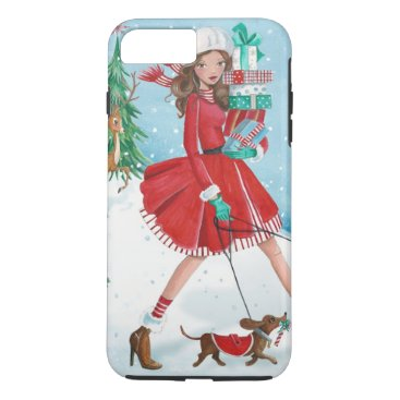 Christmas Themed Christmas Shopping - Iphone 7 plus case