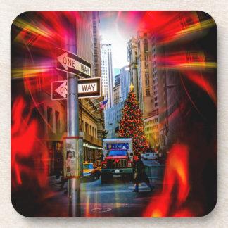 Christmas Shopping New York - Weihnachtsshopping Coaster