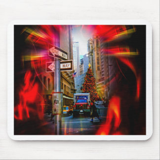 Christmas Shopping New York - Weihnachtsshopping Mouse Pad
