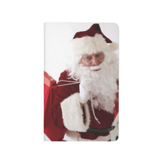 Christmas Shopping Santa Delivers Presents Gifts Journal