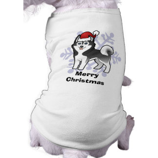 Christmas Siberian Husky / Alaskan Malamute T-Shirt