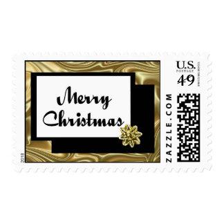 Christmas Silk Bow Postage