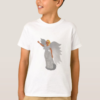 Christmas Silver Angel T-Shirt