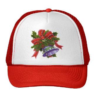 Christmas Silver Bell Trucker Hats