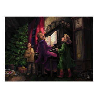 Christmas Sing Along Posters