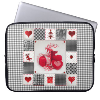 Christmas Singer Laptop Sleeve with songs & videos
