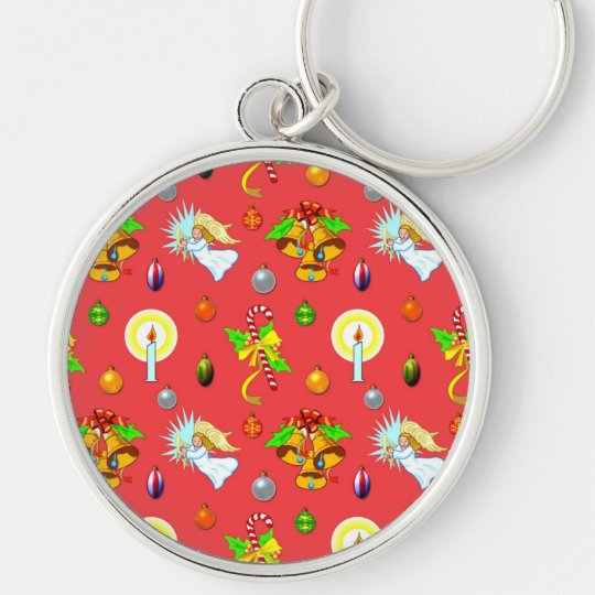 Christmas - Singing Angels & Golden Bells Keychain