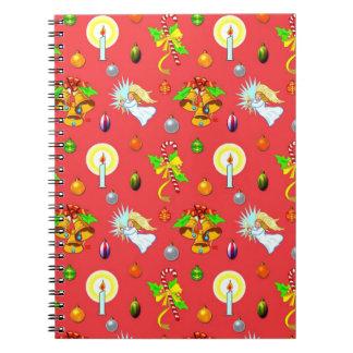 Christmas - Singing Angels & Golden Bells Notebook