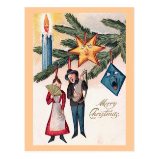 """Christmas Singing"" Postcard"