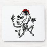 Christmas Skeleton Mousepad
