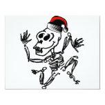 Christmas Skeleton Personalized Invitation