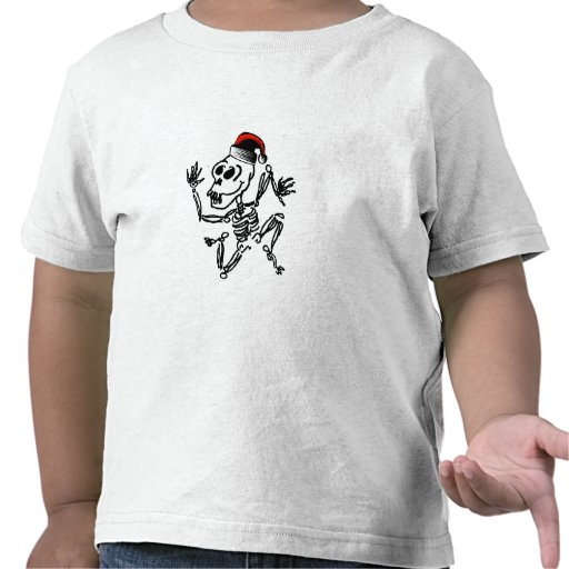 Christmas Skeleton T-shirts