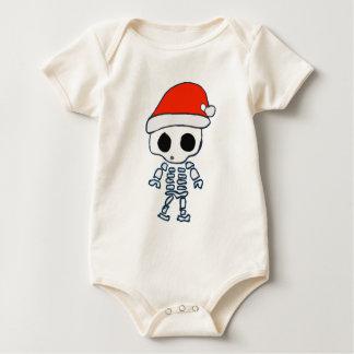 Christmas Skelly Baby Bodysuit