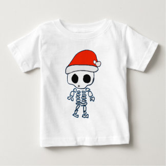 Christmas Skelly Baby T-Shirt