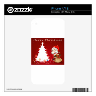 Christmas Skins For iPhone 4