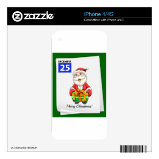 Christmas Skins For The iPhone 4