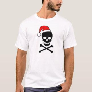 Christmas Skull And Crossbones T-Shirt