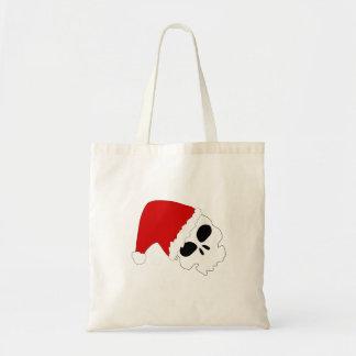 Christmas Skull Canvas Bags