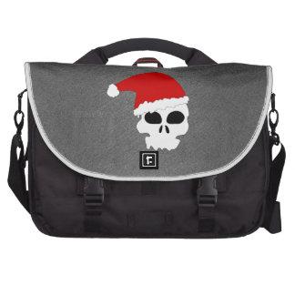 Christmas Skull Commuter Bags
