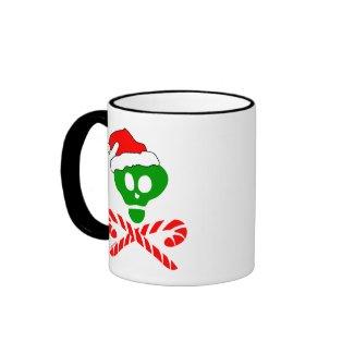 Christmas Skull Crossbones mug