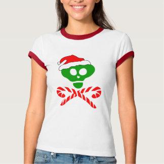 Christmas Skull Crossbones T-Shirt