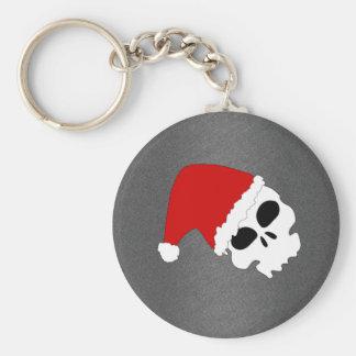 Christmas Skull Keychains