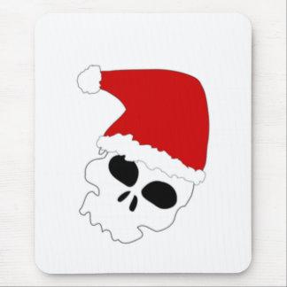 Christmas Skull Mouse Pad