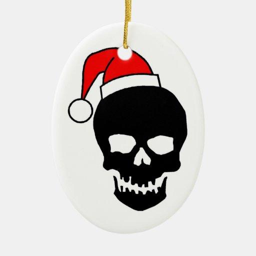 Christmas Skull Ornaments