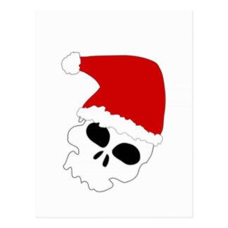 Christmas Skull Postcards