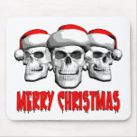 Christmas Skulls Mousepad