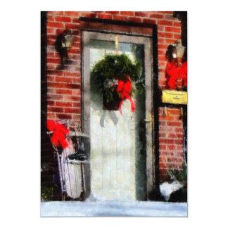 Christmas Sled Card