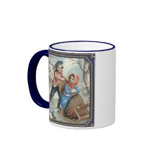 Christmas Sled Ride Coffee Mugs