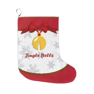 Christmas Sleigh Bell Jingle Bells Stocking