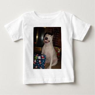 christmas smile bull terrier shirts