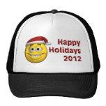 Christmas Smiley 2012 Trucker Hat