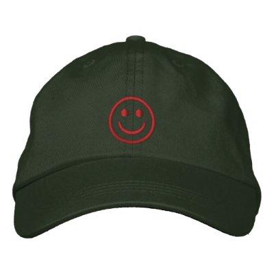 Christmas Smiley Baseball Cap
