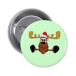 Christmas Smooshy 2 Inch Round Button