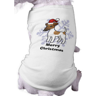 Christmas Smooth Fox Terrier Tee
