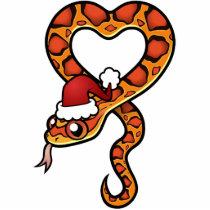 Christmas Snake Cutout