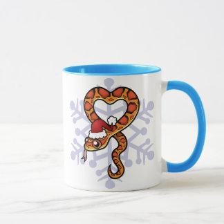 Christmas Snake Mug