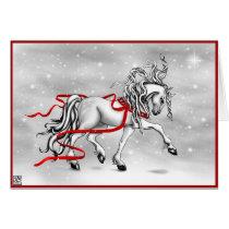 Christmas Snow Bells Card