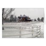 Christmas Snow Card