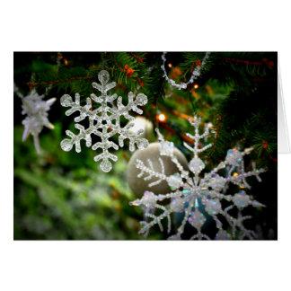 Christmas Snow Flake Cards