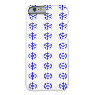 Christmas Snow Flakes iPhone 6, Barely There Barely There iPhone 6 Case