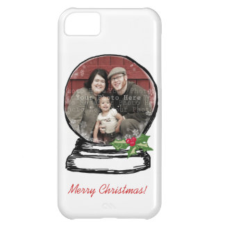 Christmas Snow Globe Photo iPhone 5C Cover